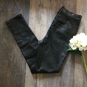 BDG | Black Faux Leather Skinny Pants